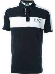 футболка-поло с логотипом  Ea7 Emporio Armani