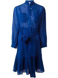платье-рубашка с поясом Yves Saint Laurent Vintage