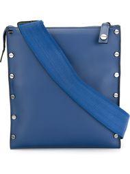сумка на плечо с заклепками Borbonese