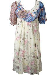 платье с аппликацией  Tsumori Chisato