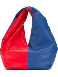 сумка-хобо в стиле колор-блок  J.W. Anderson