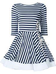 расклешенное платье в полоску Natasha Zinko