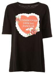 "футболка с принтом ""Undercover official fanclub"" Undercover"