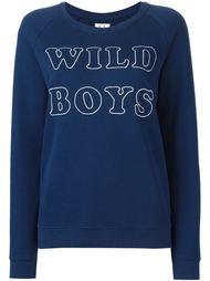 толстовка  с вышивкой wild boys Zoe Karssen