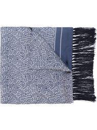 шарф с мелким узором E. Tautz