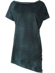 асимметричная футболка с вырезом-лодочкой Avant Toi