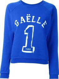 свитер с принтом-логотипом Gaelle Bonheur