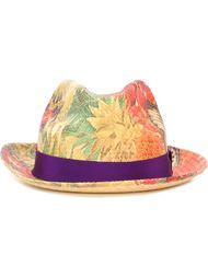 шляпа с цветочным узором  Etro