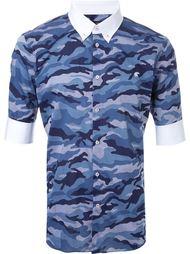 рубашка на пуговицах с камуфляжным принтом Loveless
