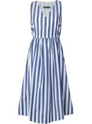 striped v neck dress Casey Casey