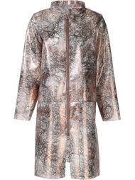 zipper pocket rain jacket Luisa Cevese Riedizioni