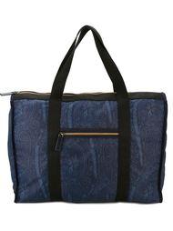 большая дорожная сумка с принтом пейсли  Etro