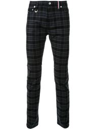 checked skinny trousers Guild Prime