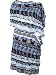 платье с принтом Junya Watanabe Comme Des Garçons