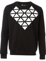 front print sweatshirt Giuliano Fujiwara