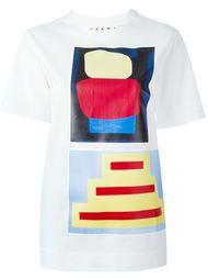 футболка с принтом Jack Davindson x Marni  Marni