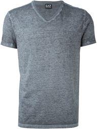 футболка c V-образным вырезом   Ea7 Emporio Armani