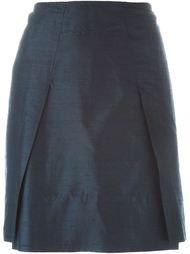юбка со складками Romeo Gigli Vintage