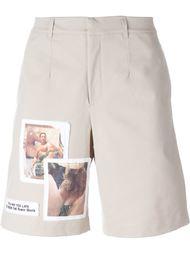 шорты с фото-принтом Misbhv