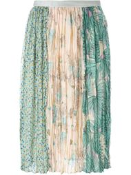 юбка с принтом в стиле пэчворк  Tsumori Chisato