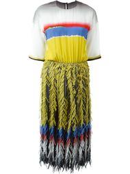 платье колор-блок  Marco De Vincenzo