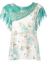 блузка с вышивкой Tsumori Chisato