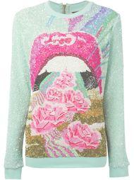 свитер с декоративной отделкой Manish Arora