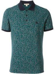 футболка-поло с цветочным принтом Burberry Brit