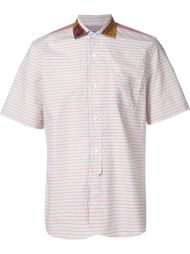 полосатая рубашка с короткими рукавами Junya Watanabe Comme Des Garçons Man