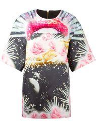 платье-шифт с абстрактным принтом Manish Arora