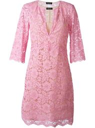 кружевное платье с рукавами три четверти  Twin-Set