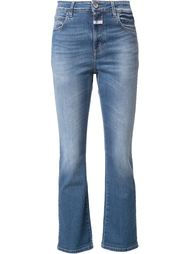 stretch flared cropped jeans Closed