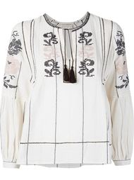 floral embroidered blouse Ulla Johnson