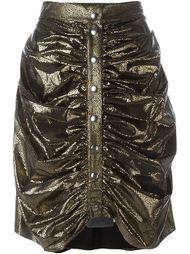 драпированная юбка с завышенной талией J.W. Anderson