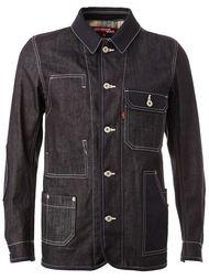 джинсовая куртка с декоративным швом Junya Watanabe Comme Des Garçons Man