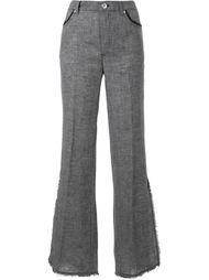 брюки с клешем ниже колена Le Ciel Bleu