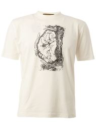 футболка с принтом  Christopher Nemeth