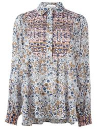 рубашка с цветочным принтом   See By Chloé