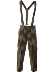 suspenders striped trousers  Aganovich