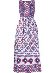 printed flared sleeveless dress Vika Gazinskaya