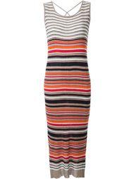 полосатое трикотажное платье  Loveless