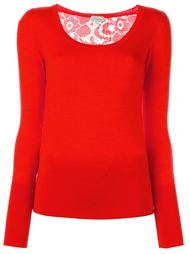 'Ingrid' lace pullover Temperley London