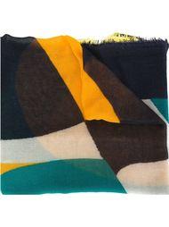 шарф в стиле колор-блок  Faliero Sarti