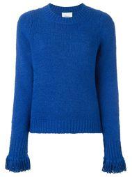 свитер с бахромой на рукавах 3.1 Phillip Lim