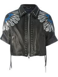 куртка с декоративными люверсами Diesel Black Gold