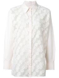 рубашка с вышивкой  See By Chloé
