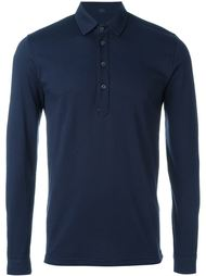 longsleeved polo shirt Mp  Massimo Piombo
