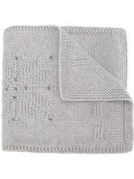 шарф с элементом снежинки Loro Piana