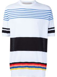 multi stripe 'Norman' T-shirt Casely-Hayford