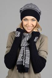 Комплект: шапка, шарф, митенки Marhatter